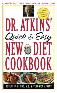 image of Dr. Atkins' Quick and Easy New Diet Cookbook