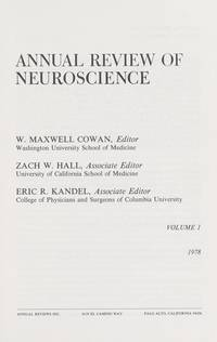 Annual Review of Neuroscience, Volume 1