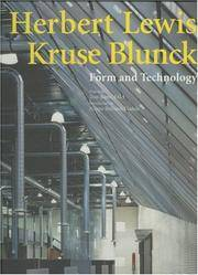 Herbert Lewis Kruse Blunck: Form and Technology (Talenti)
