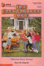 image of Welcome Back, Stacey (Baby-Sitters Club, 28)