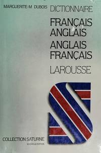 Dictionnaire Moderne Francais-Anglais (Anglais-Francais) (Collection Saturne) (English and French...