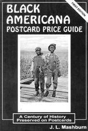 Black Americana; Postcard Price Guide; a century of history preserved on postacards