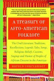 A Treasury Of Afro American Folklore