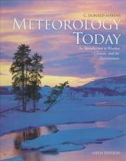 image of Meteorology Today: An Introduction to Weather, Cl