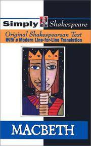 image of Macbeth (Turtleback School & Library Binding Edition) (Simply Shakespeare)