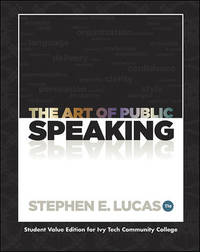 image of The Art of Public Speaking (Student Value Edition for Ivy Tech Community College)
