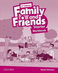 Family And Friends: Starter: Workbook - Used Books