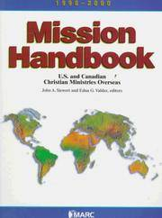 Mission Handbook 1998-2000: U.S. and Canadian Christian Ministries Overseas