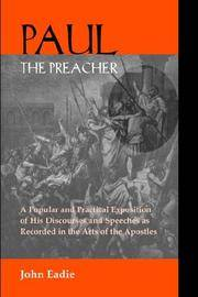 Paul the Preacher: Discourses and Speeches in Acts