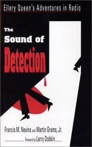 The Sound of Detection: Ellery Queen's Adventures in Radio