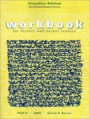 Workbook for Lectors and Gospel Readers: Year B, 2003