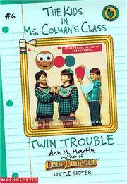 image of Twin Trouble (Kids in Ms. Colman's Class)