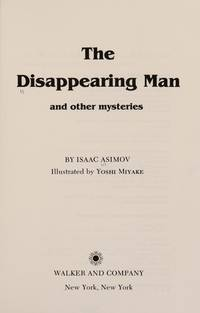 image of The Disappearing Man and Other Mysteries
