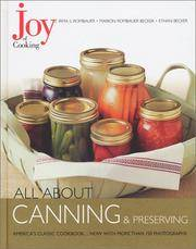 image of Joy of Cooking: All About Canning_Preserving (Joy of Cooking All About Series)