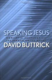 Speaking Jesus