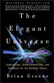 The Elegant Universe (Turtleback School & Library Binding Edition)