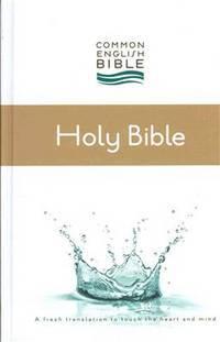 CEB Common English Thinline Bible, Hardcover