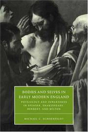 Bodies & Selves Early Mod England (Cambridge Studies in Renaissance Literature and Culture)