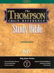 image of Thompson Chain Reference Bible (Style 536black index) - Handy Size KJV - Genuine Leather