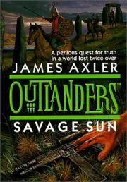 Savage Sun (Outlanders) [Abridged Audio Cassettes]