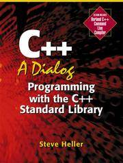 C++ : A Dialog - Programming with the C++ Standard Library
