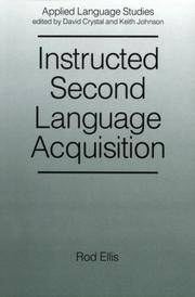 Instructed Second Language Acquistion