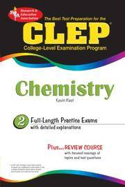 CLEP Chemistry (CLEP Test Preparation)