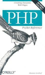 PHP Pocket Reference, 2nd Edition