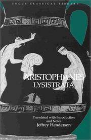 image of Aristophanes: Lysistrata: Translated With Introduction and Notes (Focus Classical Library) (Focus Classical Library)