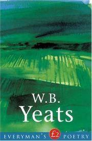 W. B. Yeats: Everyman Poetry by  John Kelly W. B. Yeats - Paperback - from Ria Christie Collections and Biblio.com