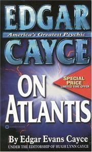 image of Edgar Cayce on Atlantis (Edgar Cayce Series)