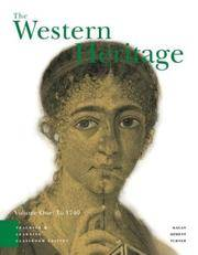 image of The Western Heritage: Teaching and Learning- Classroom Edition, Vol. I: To 1740