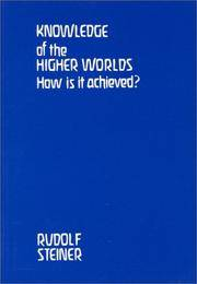 image of Knowledge of the Higher Worlds: How Is It Achieved (British Translation)