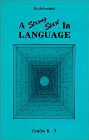 Strong Start In Language