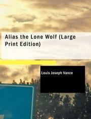 image of Alias the Lone Wolf