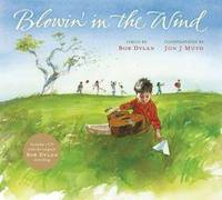 Blowin' in the Wind  (Book + CD) **SIGNED by Jon J Muth, 1st Edition /1st Printing + Photo**
