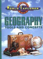 WORLD EXPLORER:GEOGRAPHY:TOOLS AND CONCEPTS SE 1998 (World Explorer Series)