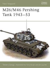 M26/M46 Pershing Tank 1943–53 (New Vanguard)