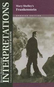 image of Mary Shelley's Frankenstein (Bloom's Modern Critical Interpretations (Hardcover))