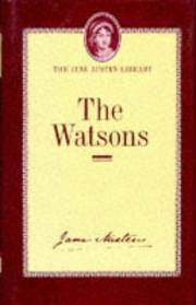 image of The Watsons: A Fragment (Jane Austen Library)