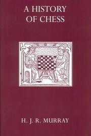 image of A History of Chess