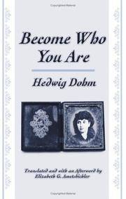 Become Who You Are (Suny Series, Women Writers in Translation)