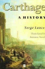 Carthage A History by Serge. Lancel - Paperback - April 1997 - from Sorensen Books : Your Vancouver Island Bookshop (SKU: Carth01)