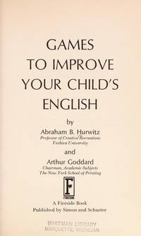 GAMES TO IMPROVE YOUR CHILD'S ENGLISH