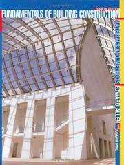 image of Fundamentals of Building Construction: Materials and Methods