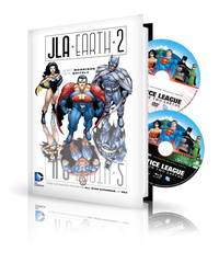 JLA: Earth 2 Book & DVD Set: Plus DC Universe Original Movie Justice League: Crisis on Two...