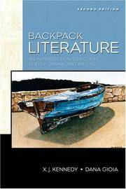 9780205551033 backpack literature an introduction to fiction.