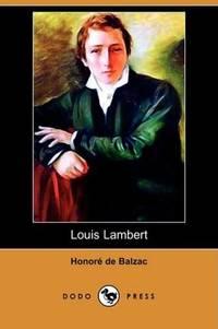 image of Louis Lambert (Dodo Press)