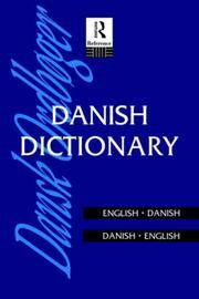 Danish Dictionary: Danish-English, English-Danish (Routledge Bilingual Dictionaries)