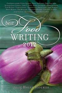 Best Food Writing 2012